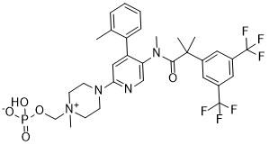 Картинки по запросу fosnetupitant structure